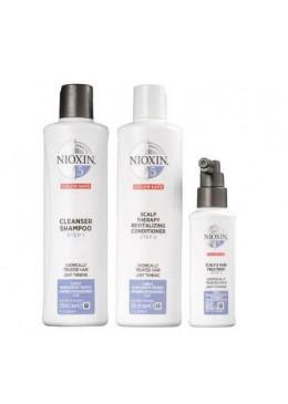 System 5 Chemically Treated Hair Light Tuning Treatment 3 Products - Nioxin Beautecombeleza.com