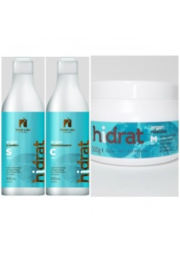 Kit Hidrat Argan Tree Liss - 2x500ml and 1x500g