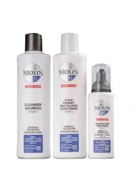 System 6 Thicker Fuller Chemically Treated Advanced Tuning Kit 3 Prod. - Nioxin Beautecombeleza.com