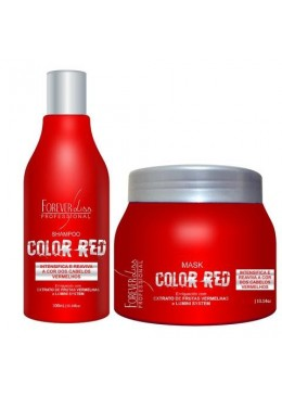 Color Red (Red Hair) Maintenance Kit 2x1 - Forever Liss