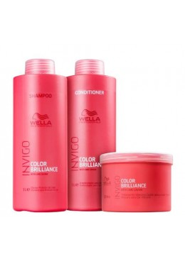 Invigo Color Brilliance Softness Antioxidant Treatment Kit 3 Products - Wella Beautecombeleza.com