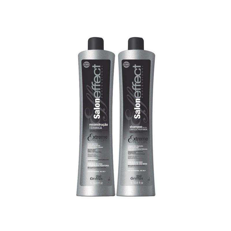 Salon Effect Thermal Reconstruction Progressive Blowout Coconut Kit 2x1L - Griffus Beautecombeleza.com