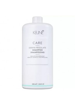 Care Derma Regulate Oily Hair Scalp Control Cleaning Shampoo 1L - Keune Beautecombeleza.com