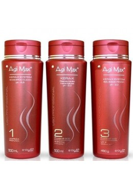 Agi Max Kera-X System Progressive Brush Kit 3x500ml - S'ollér Soller