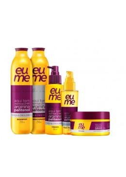 Strength & Growth Panthenol Arginine Vitamin B3 Treatment Kit 5 Prod. - Eume Beautecombeleza.com