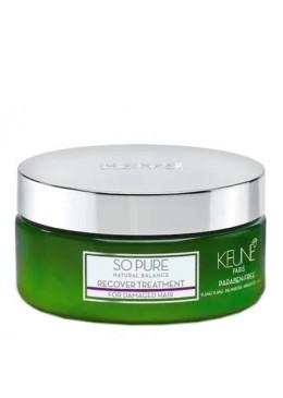 So Pure Recover Treatment Máscara Capilar 200ml - Keune Beautecombeleza.com