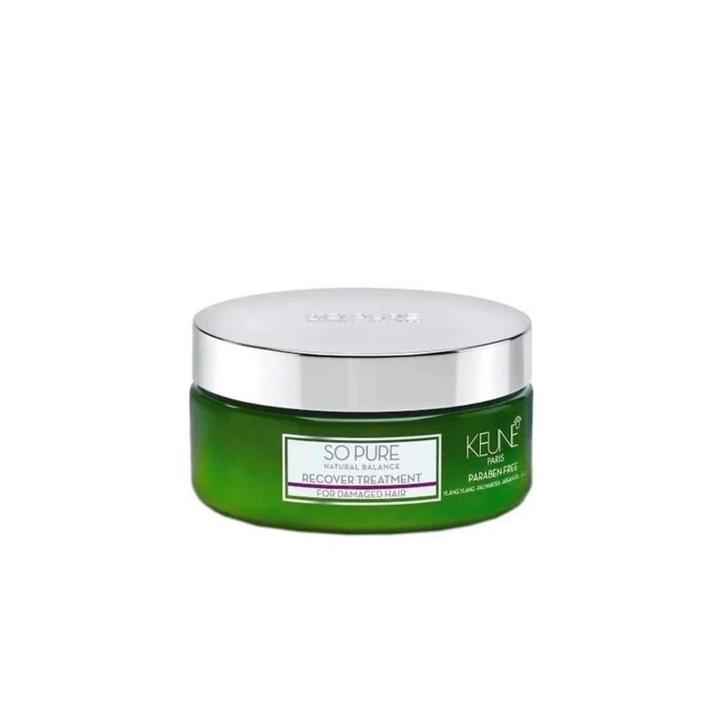 Damaged Hair So Pure Recover Quinoa Argan Coconut Oils Mask 200ml - Keune Beautecombeleza.com