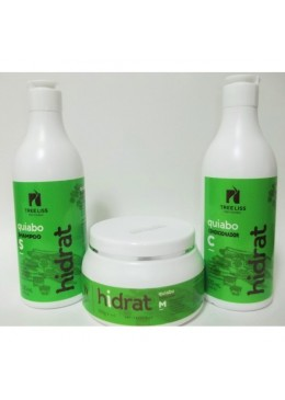 Kit Hidrat de Quiabo Tree Liss - 3 x 500ml - Tree Liss