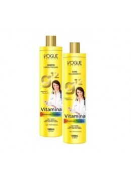 Vitamins Advanced Formula Hair Alignment Treatment G12 Kit 2x1L - Vogue Fashion Beautecombeleza.com