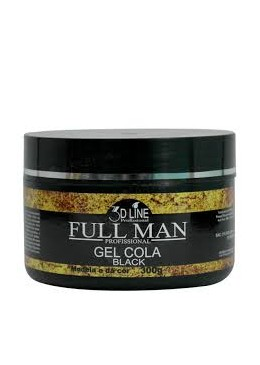 Gel Cola Black 300g - 3D Line Full Man
