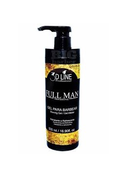 Shaving Gel 3d Line Full Man 500ml