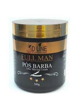 Moisturizing Cream After shave Full Man 3D Line Profissional 500g