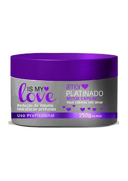 Máscara Is My Love Amor Platinado 250g Btox Capilar