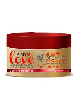 Máscara Is My Love Organic 250g Btox Capilar
