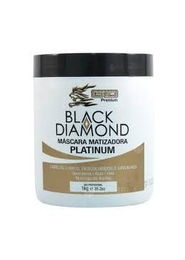 Máscara Matizadora Platinum Black Diamond G10 - 1kg  Beautecombeleza.com